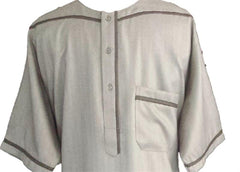 Dubai Casual Dishdasha for Muslim Men - Arabic Islamic Shopping Store - 2