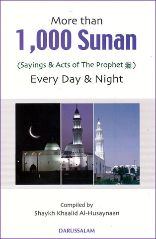 More than 1000 Sunan for Every Day & Night (Large) - Arabic Islamic Shopping Store