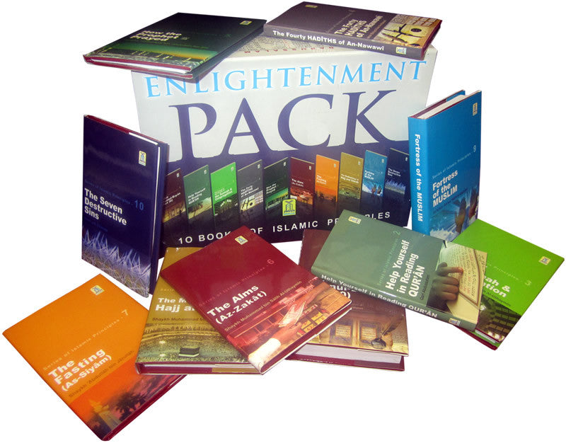 Enlightenment Pack (10 Books) - Arabic Islamic Shopping Store