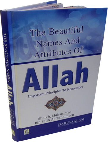 Beautiful Names and Attributes of Allah, The - Arabic Islamic Shopping Store