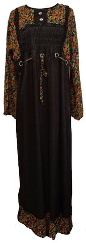Modest Long Casual Maxi Dress - Arabic Islamic Shopping Store - 1