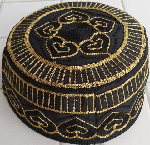 Arabic Muslim Men's Cap and Kufi - Elegant Islamic Designs - Arabic Islamic Shopping Store