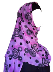 Elegant Shawls with Circular patterns from Dubai - Arabic Islamic Shopping Store - 1