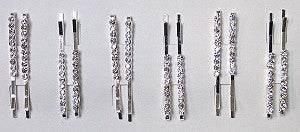 RHINESTONE BOBBY PINS - Arabic Islamic Shopping Store