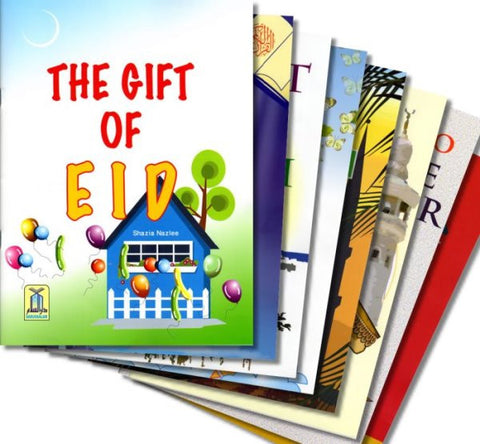 Children's Gift & Lessons Series (Set of 10 Books) - Arabic Islamic Shopping Store
