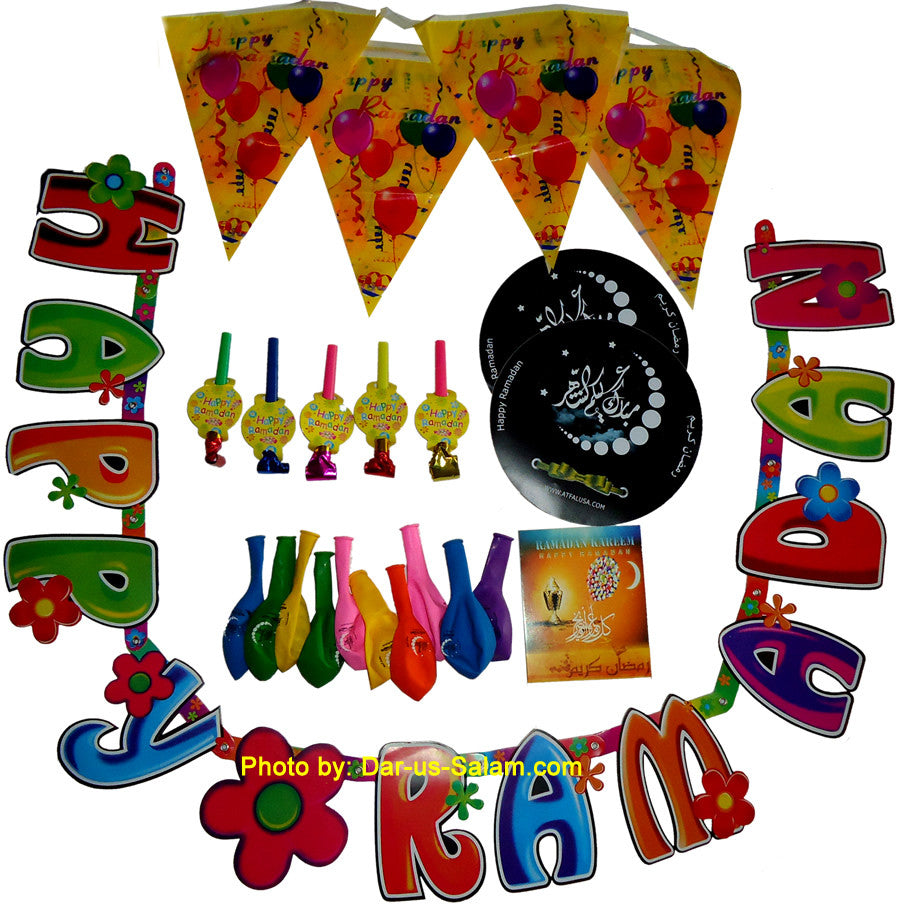 Ramadan Decoration Kit - Arabic Islamic Shopping Store