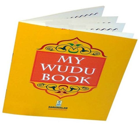 My Wudu Book (Muslim ablution) - Arabic Islamic Shopping Store