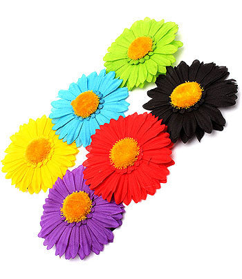Fancy-Flower Elastic Ponytail bands - Arabic Islamic Shopping Store