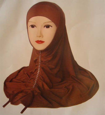 """Noble"" Hijab with fancy beads line - Arabic Islamic Shopping Store"