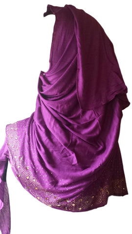 Hosiery Shawls/Hijabs for Muslim Women - Arabic Islamic Shopping Store - 1