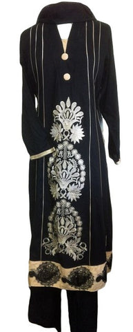 Elegant Pakistani Shalwar Kameez Dress - Arabic Islamic Shopping Store - 1