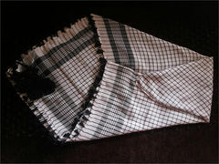 Checkered Print Middle Eastern Shemagh with Black tassles - Arabic Islamic Shopping Store - 3