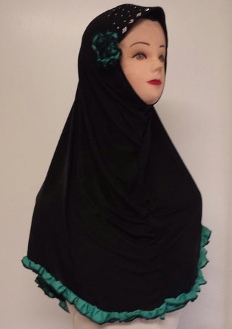 Flower & Frills Hijab for the Muslimah - Arabic Islamic Shopping Store