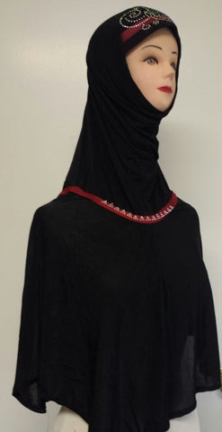 Fancy Beaded Hijab (& Niqab) for the Muslimah - Arabic Islamic Shopping Store