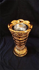 Royal Gold/Silver Designer Mabakhir for Burning Incense from Saudi Arabia - Arabic Islamic Shopping Store - 2