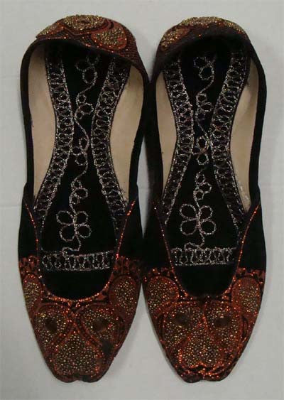 Richly Embroidered Khussa Shoes for Women - Arabic Islamic Shopping Store