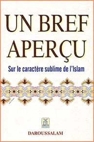 Un Bref Apercu Sur Le Caractere Sublime de L'Islam - Islam - French Language - Arabic Islamic Shopping Store