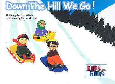 Kids will be Kids-Down the Hill We Go! - Children - Islam - Ages 3-7 - Arabic Islamic Shopping Store