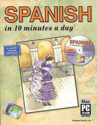 SPANISH in 10 minutes a day with CD-ROM - Language Study - Arabic Islamic Shopping Store