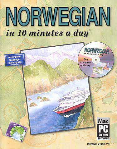 NORWEGIAN in 10 minutes a day with CD-ROM - Langauge Study - Arabic Islamic Shopping Store