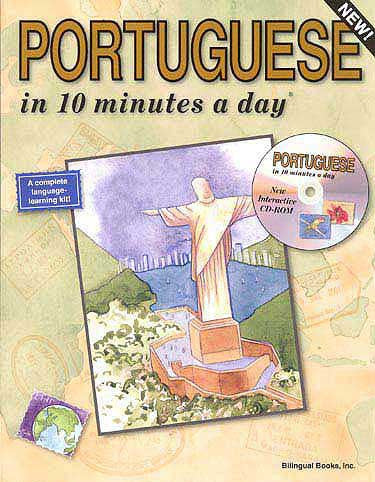 PORTUGUESE in 10 minutes a day with CD-ROM - Language Study - Arabic Islamic Shopping Store
