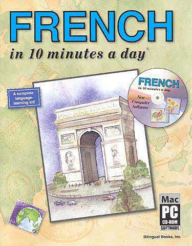 FRENCH in 10 minutes a day with CD-ROM - Language Study - Arabic Islamic Shopping Store