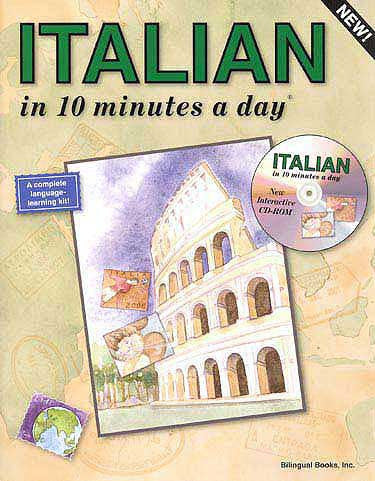ITALIAN in 10 minutes a day with CD-ROM - Language Study - Arabic Islamic Shopping Store