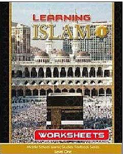 Learning Islam Worksheets: Level 1 (6th Grade) - Islamic Studies for Children - Middle School - Arabic Islamic Shopping Store