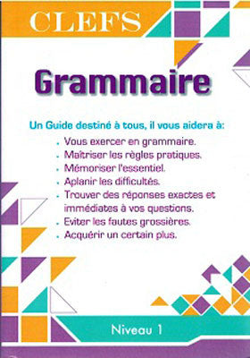 CLEFS Grammar Keys - French Level 1 - Language Study - French - Arabic Islamic Shopping Store