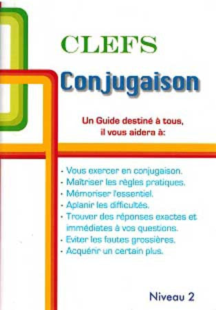 CLEFS Conjugation Keys - French Level 2 - Language Study - French - Arabic Islamic Shopping Store