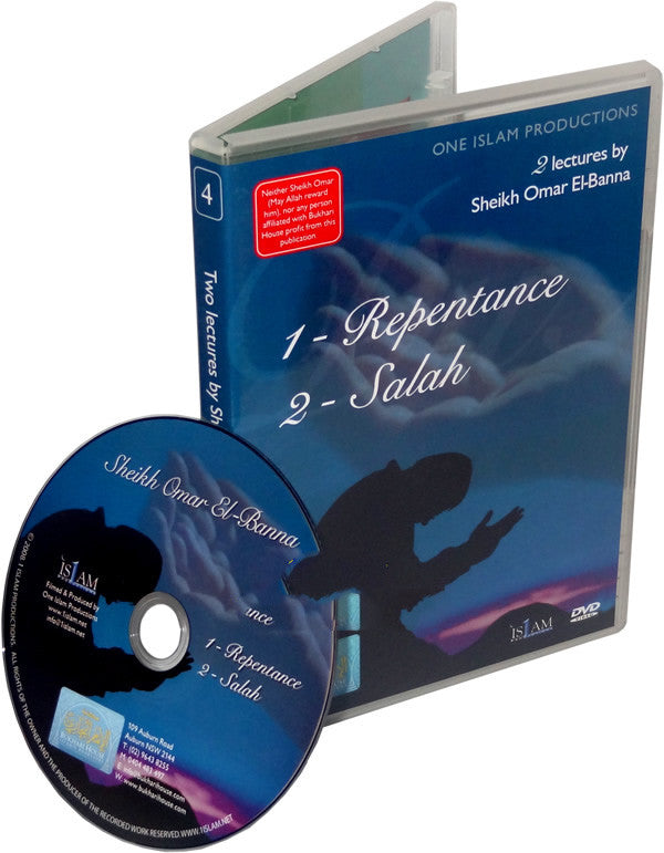 Repentance / Salah  (DVD) - Arabic Islamic Shopping Store