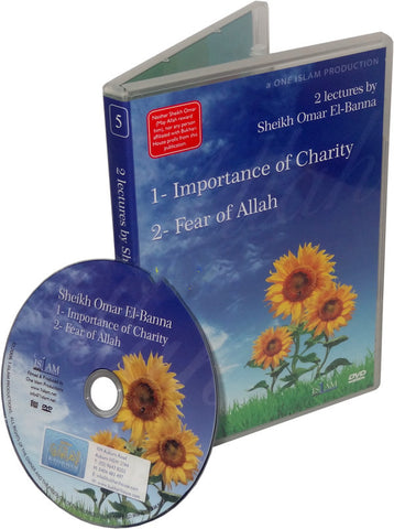 Importance of Charity / Fear of Allah (DVD) - Arabic Islamic Shopping Store