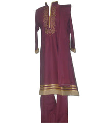 Fancy women's trouser kameez set with rich embroidery - Arabic Islamic Shopping Store - 1