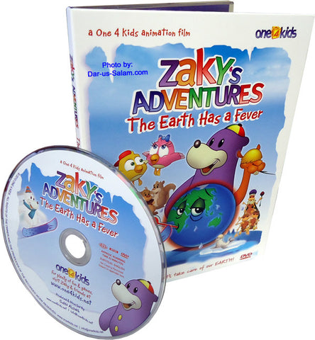 Zaky's Adventures - The Earth Has a Fever (DVD) - Arabic Islamic Shopping Store