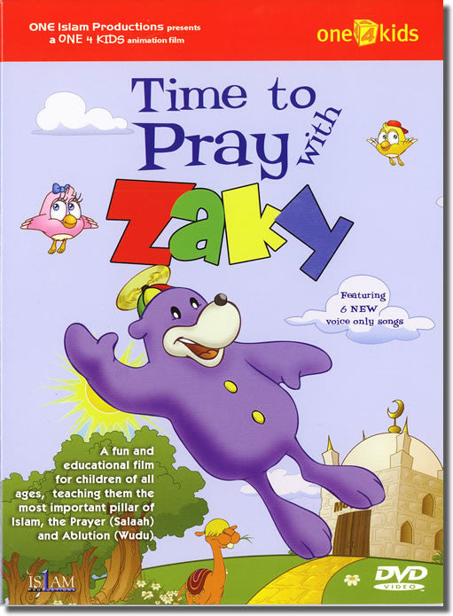 Time to Pray With Zaky (DVD) - Arabic Islamic Shopping Store