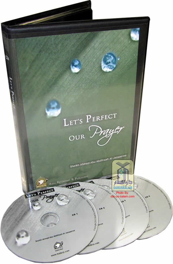 Let's Perfect Our Prayer (4 CDs) - Arabic Islamic Shopping Store
