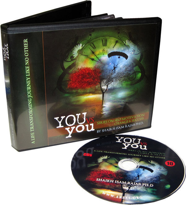 You vs. You - Series on Self Motivation (10 CD Set) - Arabic Islamic Shopping Store