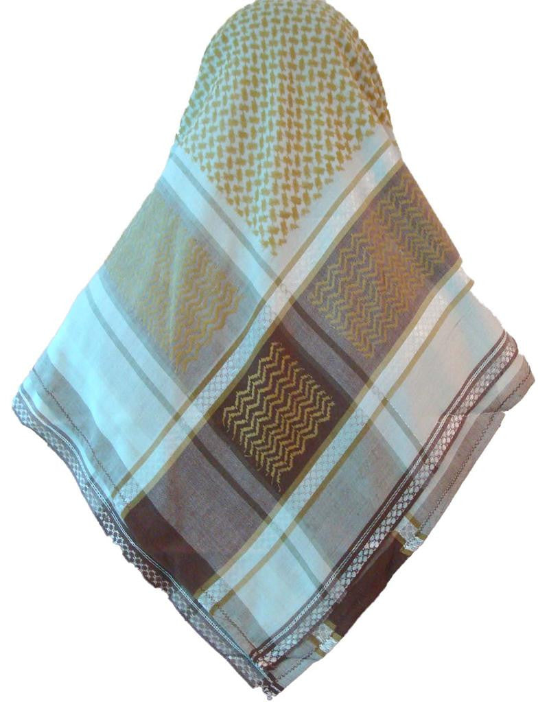 Arabic Head Scarf For Men And Colored Shemagh  Islamic -9396