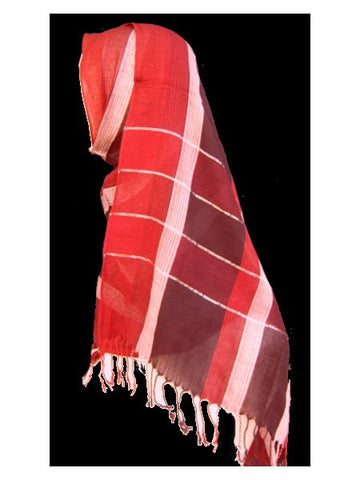 Patterned Linen Shawls - Model 5002 - Arabic Islamic Shopping Store