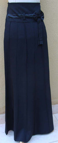 Afreen Long skirt with Satin sash bow - Arabic Islamic Shopping Store - 1