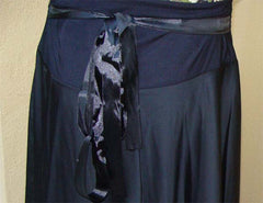 Elegant Black Flowing Skirt - Arabic Islamic Shopping Store - 3