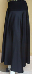 Elegant Black Flowing Skirt - Arabic Islamic Shopping Store - 1