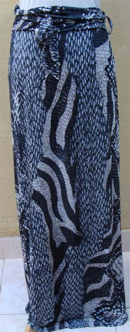 Humaira Tiger-print Long Skirt - Arabic Islamic Shopping Store