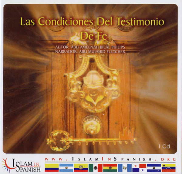 Spanish: Las Condiciones Del Testimonio De Fe (CD) - Arabic Islamic Shopping Store