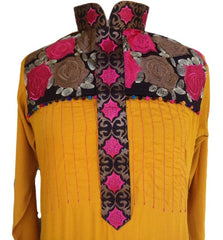 Fancy Embroidery Formal Shalwar Kameez - Arabic Islamic Shopping Store - 2