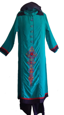 Pakistani Modern Shalwar Kameez Suit - Arabic Islamic Shopping Store
