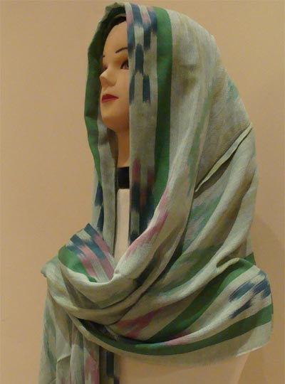 """Refractions"" Middle Eastern graceful shawl and hijab - Arabic Islamic Shopping Store - 1"