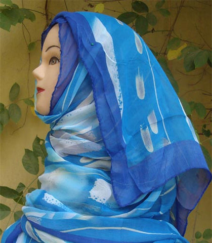 Fancy Artistic Turkish Shawl - Arabic Islamic Shopping Store