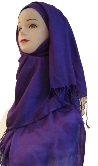 """Tranquil Colors"" Cotton Hijab Islamic Shawls - Arabic Islamic Shopping Store"