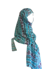 Fancy Patterned Long Shawls - Arabic Islamic Shopping Store - 1